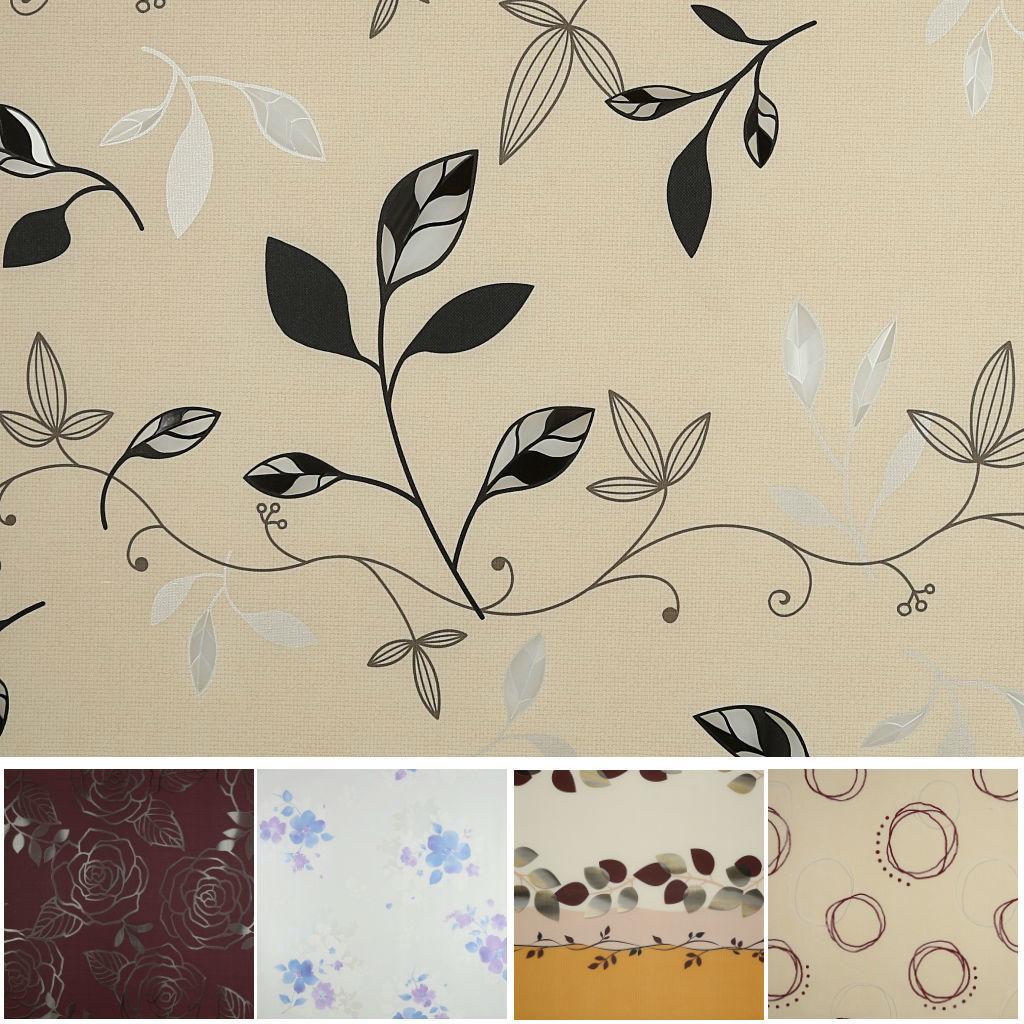 Meiwa Plastico Mantel Silky Amapolas - 140x20cm