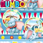 Acolchado Disney Dumbo Azul Cielo