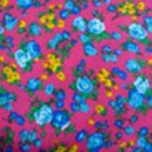 Algodón California Campo Rosa Medio