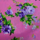 Algodón California Ramillete Rosa Medio
