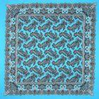 Algodon Paliacate Liso Azul Turquesa