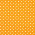 Algodon Roma Bolas Grande Liso Naranja