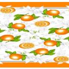 Mantel Florencia Naranjas Naranja