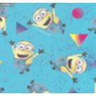 Acolchado Disney Minions Geo Azul Cielo