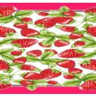 Mantel Florencia Fresas Rojo