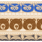 Polar Flannel Animalitos Café Beige
