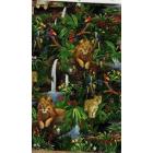 Algodón Americano Selva Verde Bandera
