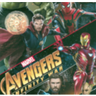 Acolchado Disney Avengers Negro