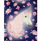 Algodón Americano Unicornio Grande Morado