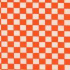 Mantel Domino Algodon Liso Naranja