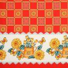 Mantel Roco Girasol Rojo