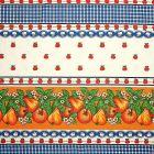 Mantel Florencia Vegetales Azul Rey