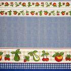 Mantel Florencia Frutas Azul Rey