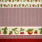Mantel Florencia Frutas Rojo Vino