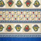 Mantel Florencia Canastas Azul Turquesa