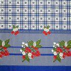 Mantel Florencia Cerezas Azul Rey