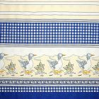 Mantel Florencia Patos Azul Rey