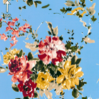 Razo Digital Flor Chica Azul Cielo