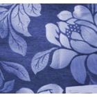 Decoracion Firenze Flor Azul Marino