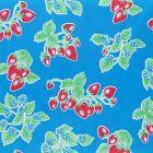 Plastico Charomesa Fresas Azul Rey