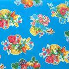 Plastico Charomesa Cesto De Flores Azul Rey