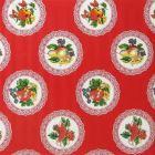 Plastico Charomesa Platos Rojo