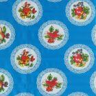 Plastico Charomesa Platos Azul Rey
