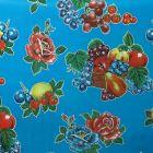 Plastico Charomesa Canasta Grande Azul Rey