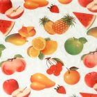 Plastico Cristamesa Frutas Blanco