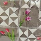 Plastico Cristamesa Tulipanes Blanco