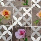 Plastico Cristamesa Rosas Hueso