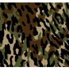 Polar Flannel Camuflaje Verde Militar