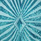 Fiesta Glamour Moderno Azul Turquesa