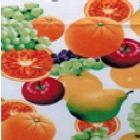 Mantel Roco Frutas Blanco