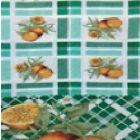 Mantel Roco Naranja Verde Jade