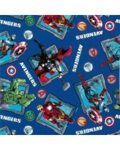 Acolchado Disney Avengers Azul Rey