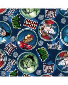 Acolchado Disney Vengadores Azul Marino