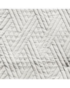 Acolchado Saturno Geometrico Blanco