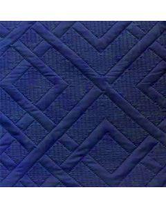 Acolchado Saturno Moderno Azul Marino
