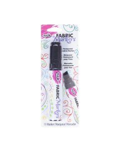 Marcador Textil Biselado grueso Tulip Negro No.27384
