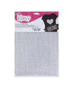 Transfer c/glitter Tulip Plata No.32475