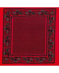 Algodon Paliacate Liso Rojo