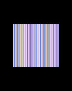 Algodón Micro Fibra Estampado Raya Vertical Azul Cielo