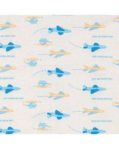 Blancos Bombasy Aviones Azul Cielo