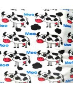 Blancos Micro Trapo Estampado Vaca