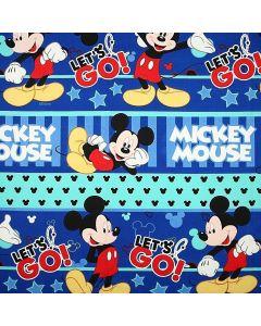 Decoracion Canasta Disney Mickey Azul Rey