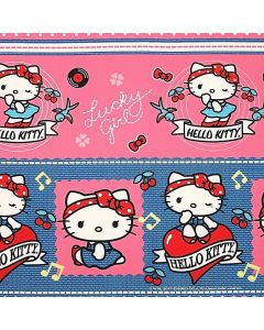Decoracion Canasta Disney Kitty Guias Rosa Fiusha