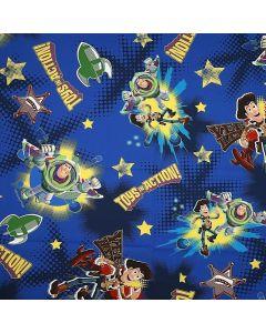 Decoracion Canasta Disney Toy Story Espacio Azul Rey