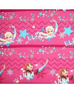 Decoracion Canasta Disney Frozen Estrellas Rosa Fiusha