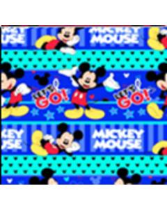 Acolchado Disney Mickey Azul Rey